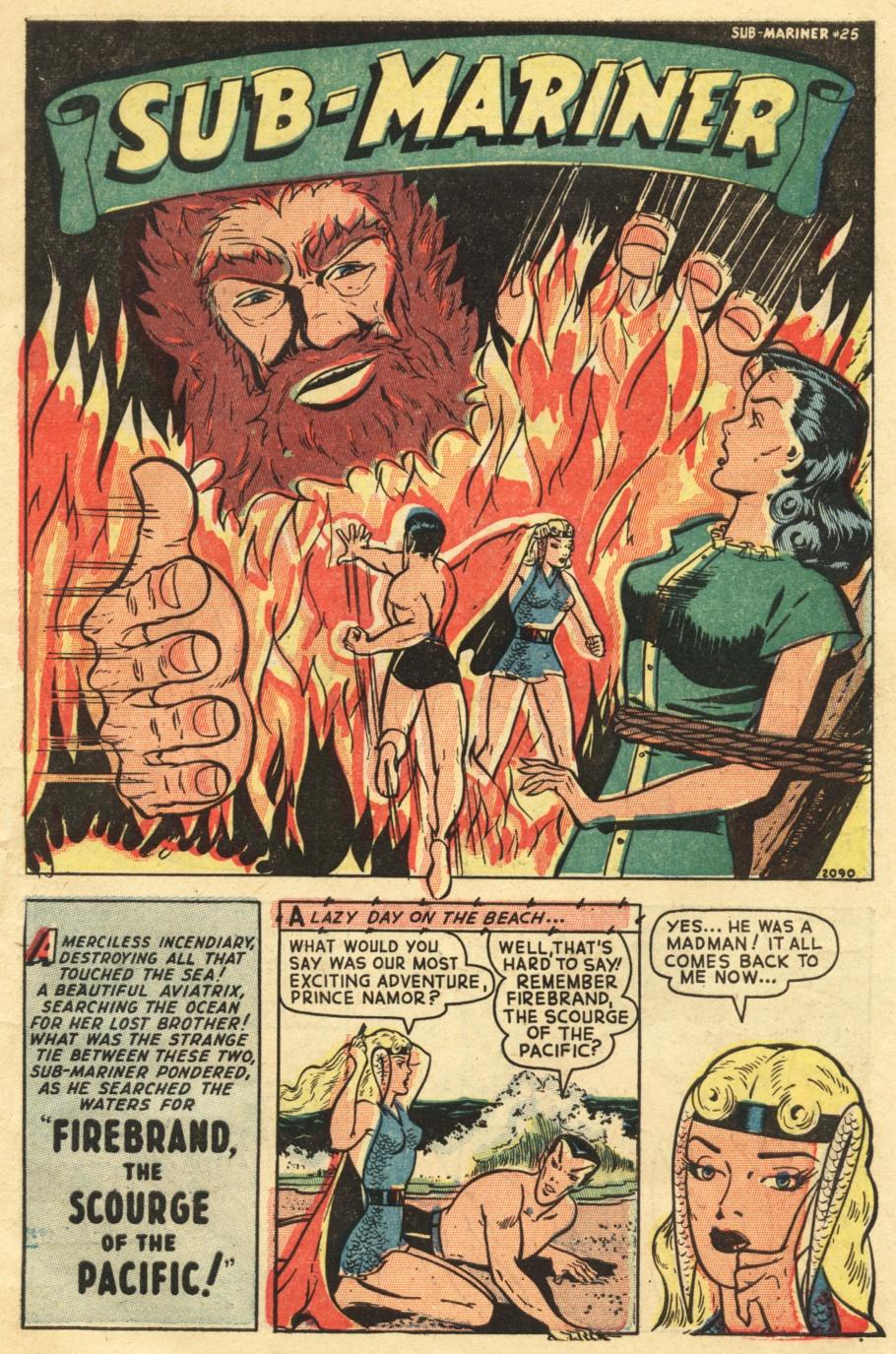 Sub-Mariner Comics #25 #25 - English 3