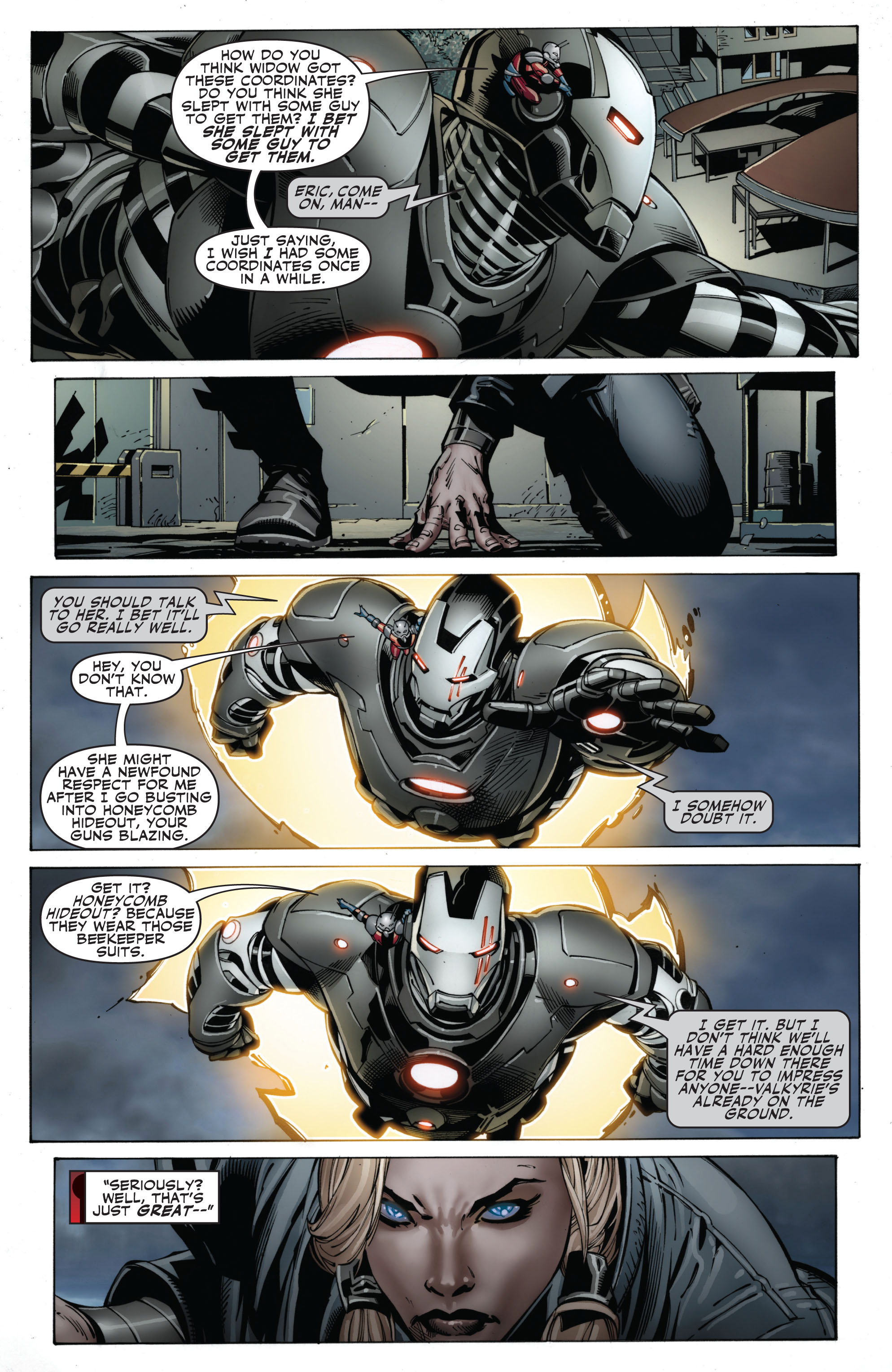Read online Secret Avengers (2010) comic -  Issue #12.1 - 14