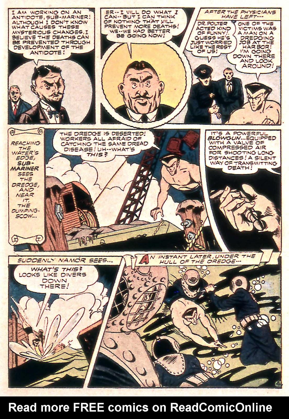 Sub-Mariner Comics Issue #14 #14 - English 19