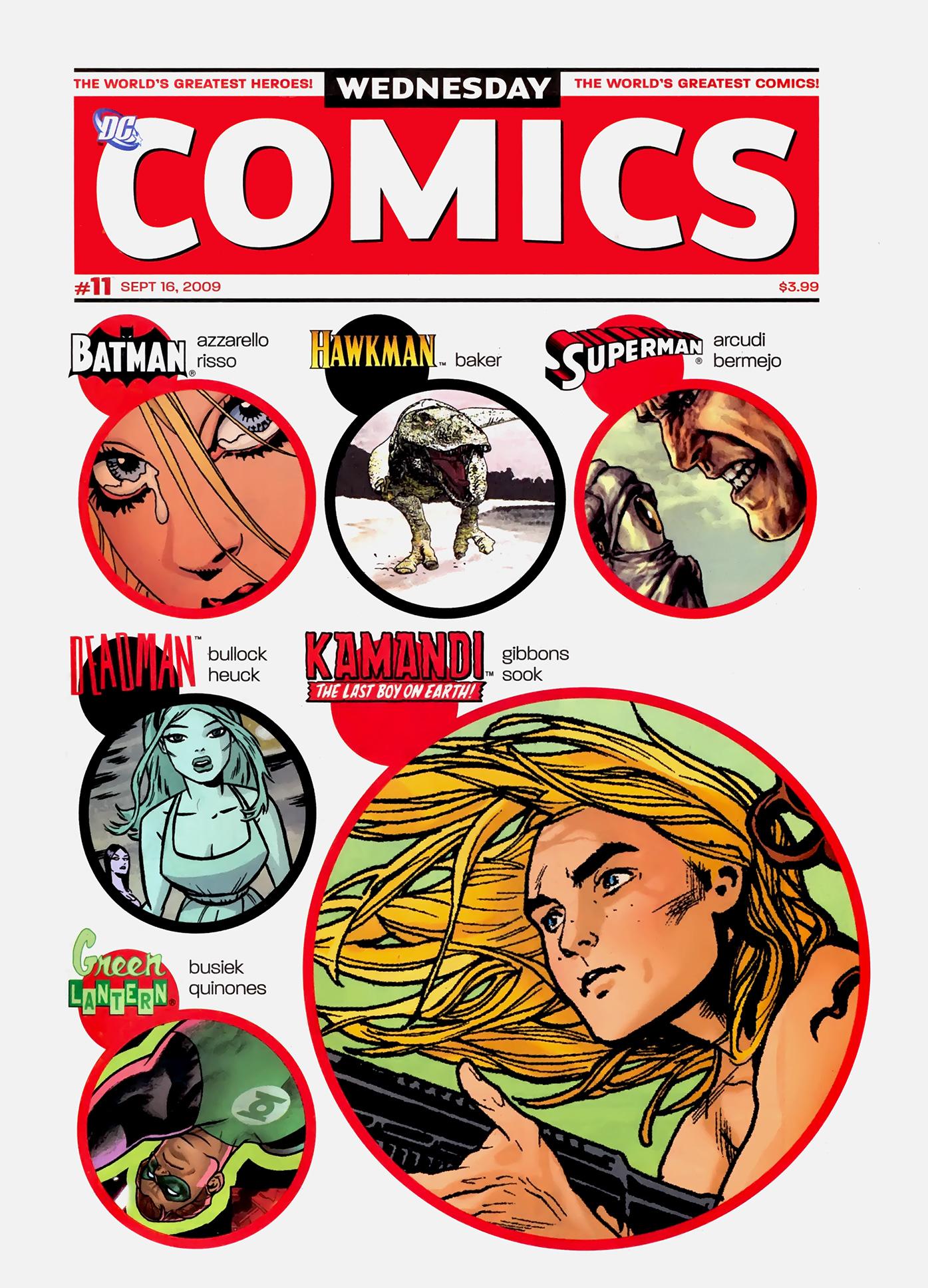 Read online Wednesday Comics comic -  Issue #11 - 1