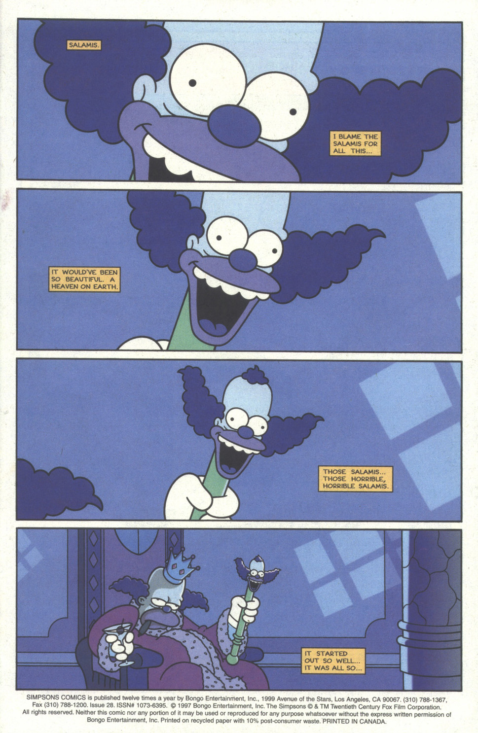 Read online Simpsons Comics comic -  Issue #28 - 2