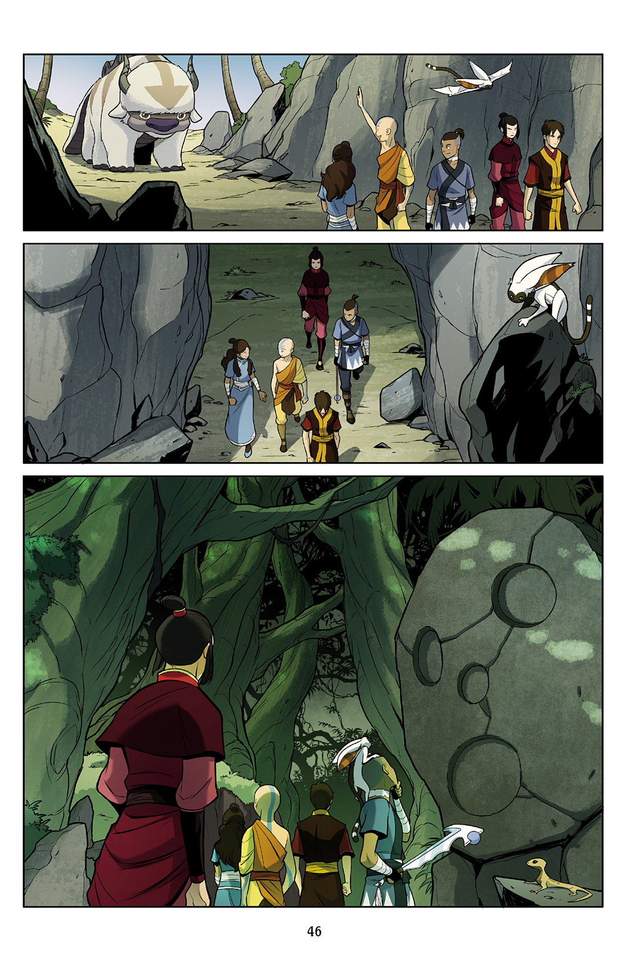 Read online Nickelodeon Avatar: The Last Airbender - The Search comic -  Issue # Part 2 - 47