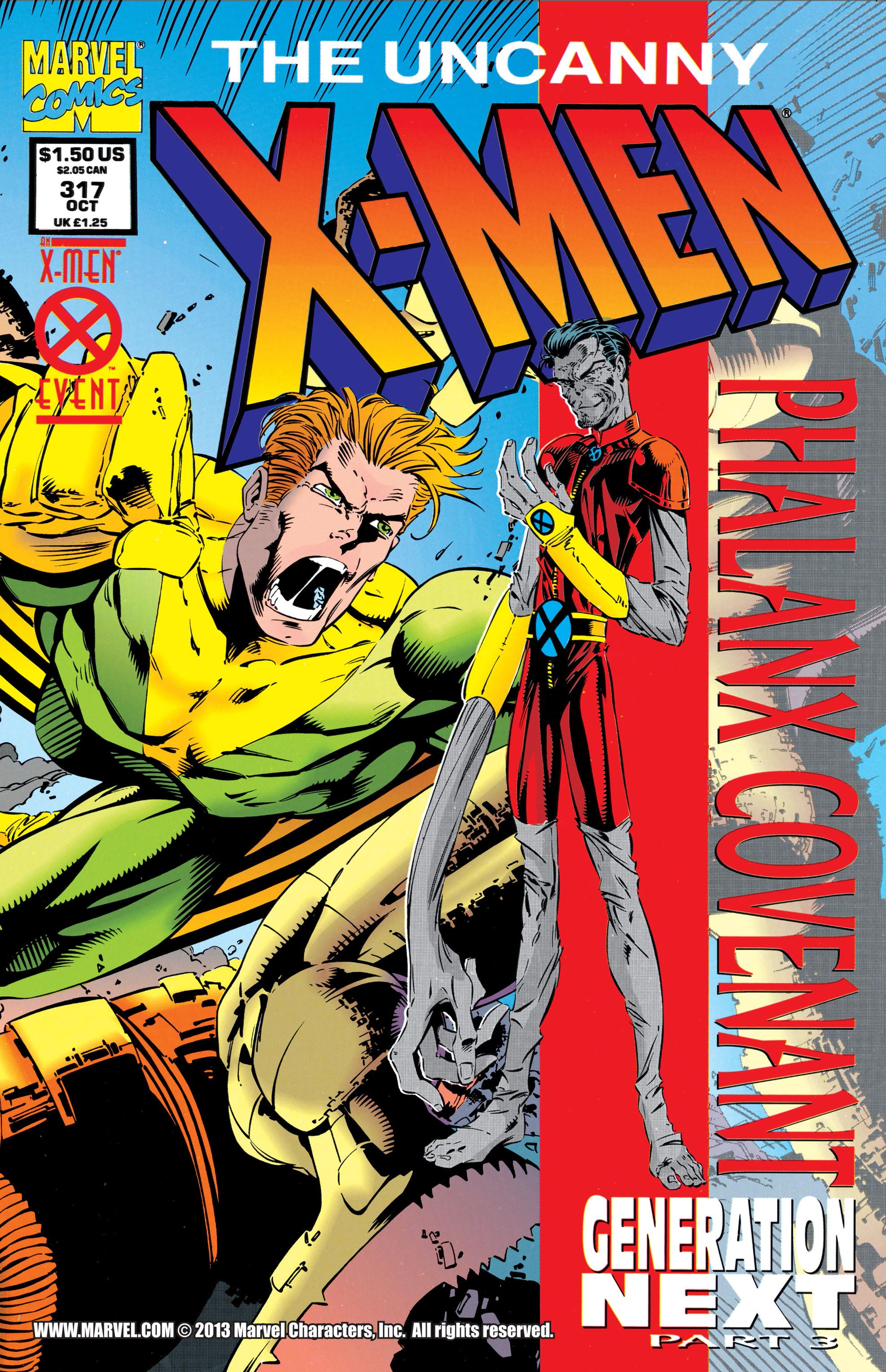 Uncanny X-Men (1963) 317 Page 1