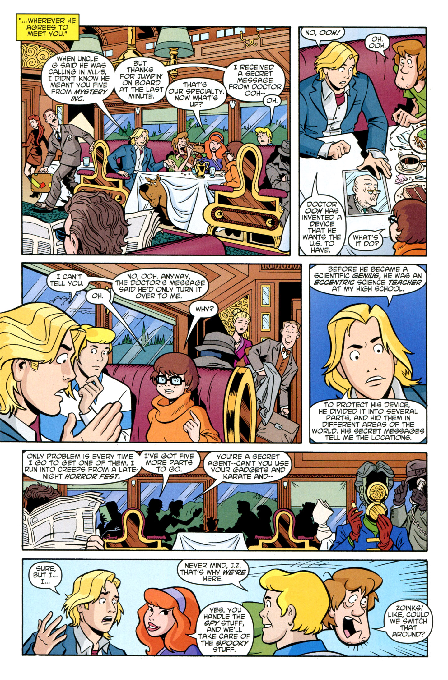 Read online Scooby-Doo: Where Are You? comic -  Issue #29 - 21
