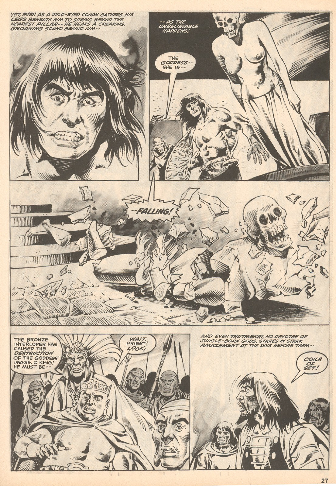 The Savage Sword Of Conan Issue #60 #61 - English 27