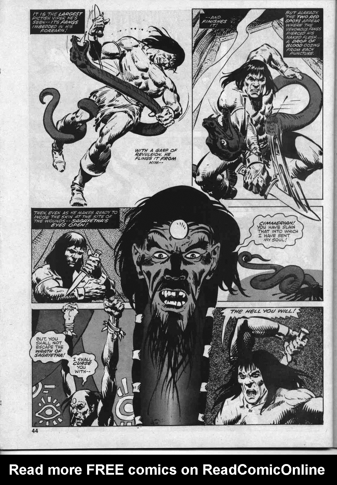 The Savage Sword Of Conan Issue #46 #47 - English 43