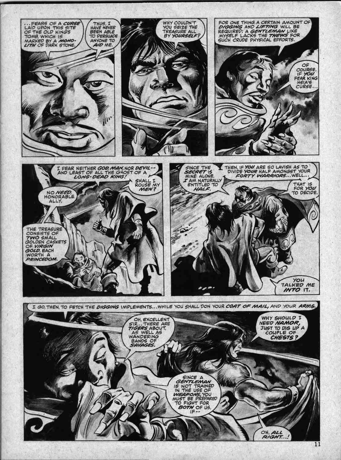 The Savage Sword Of Conan Issue #33 #34 - English 10