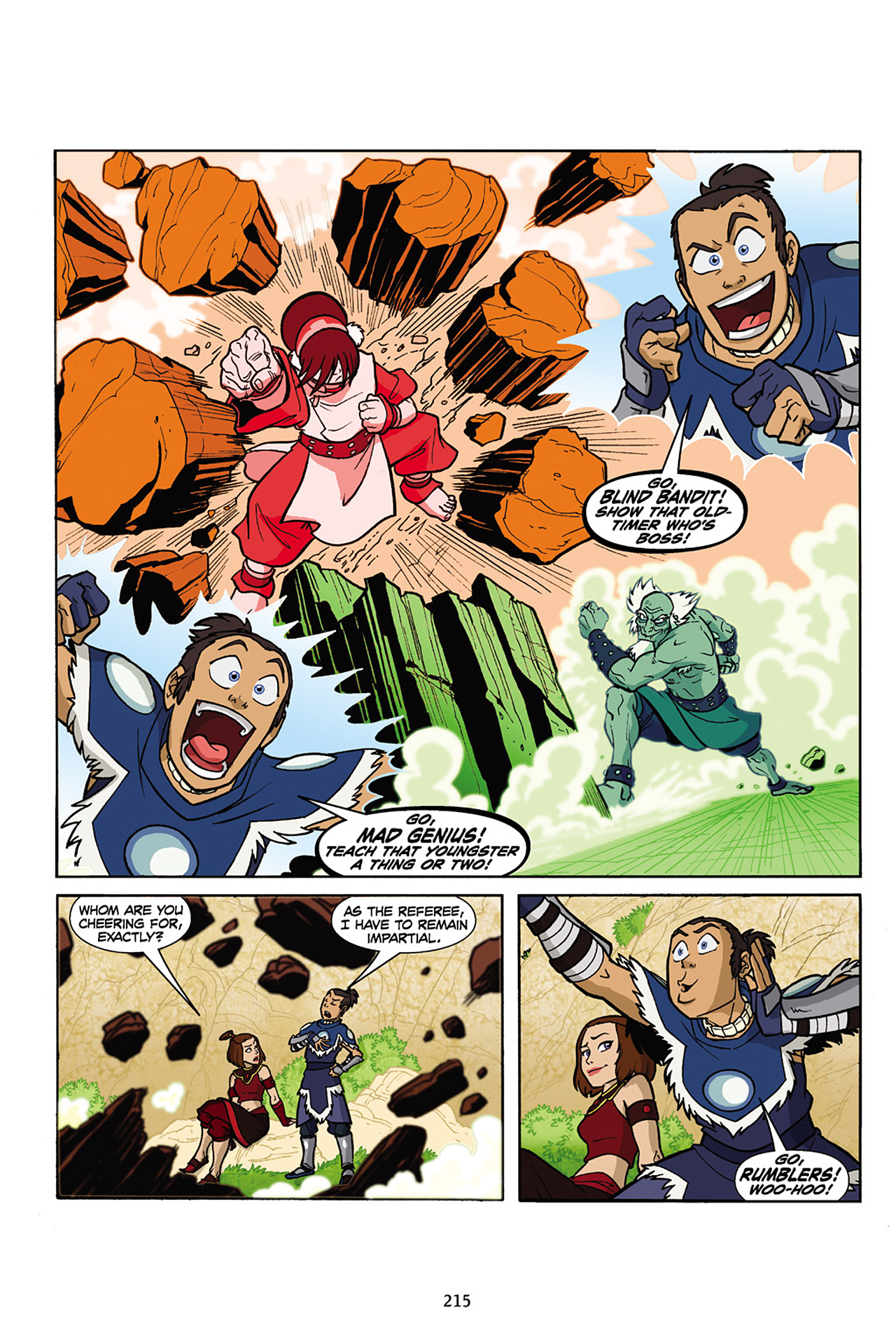 Nickelodeon Avatar: The Last Airbender - The Lost Adventures chap full pic 216