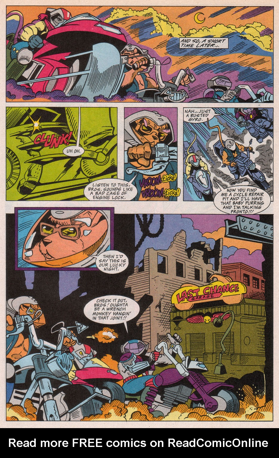 Biker Mice from Mars 1 Page 18