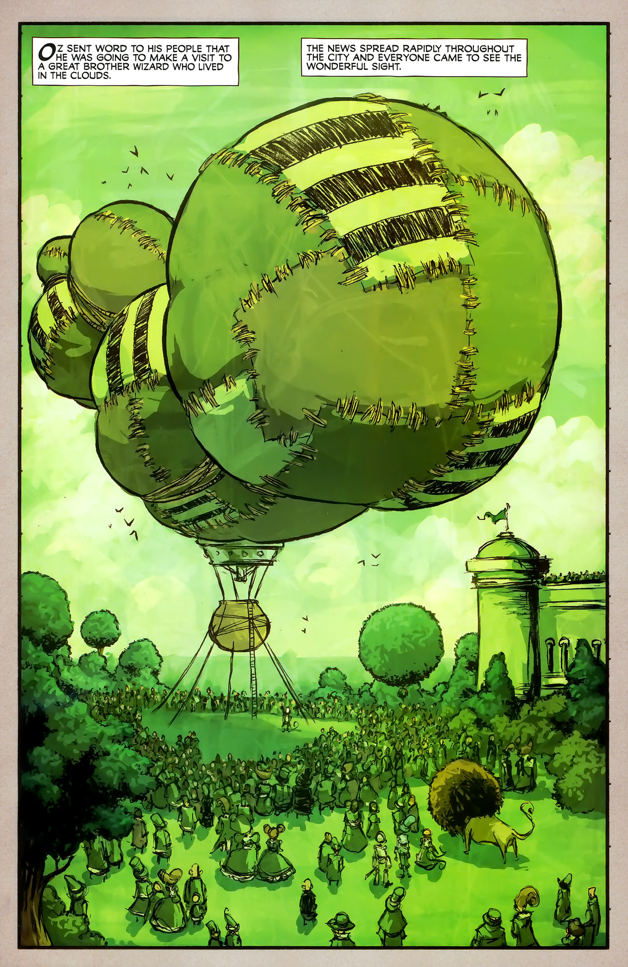 Read online The Wonderful Wizard of Oz comic -  Issue #7 - 11