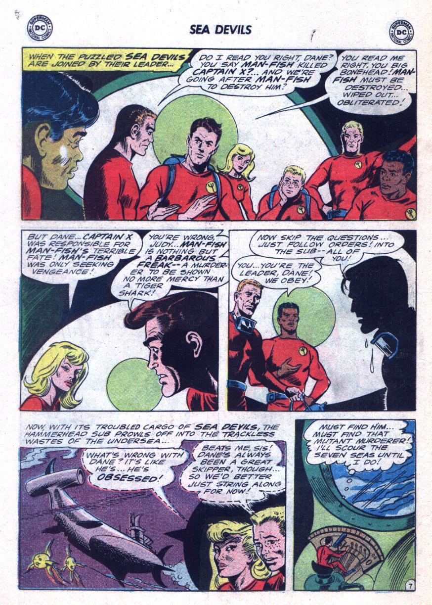 Read online Sea Devils comic -  Issue #24 - 11