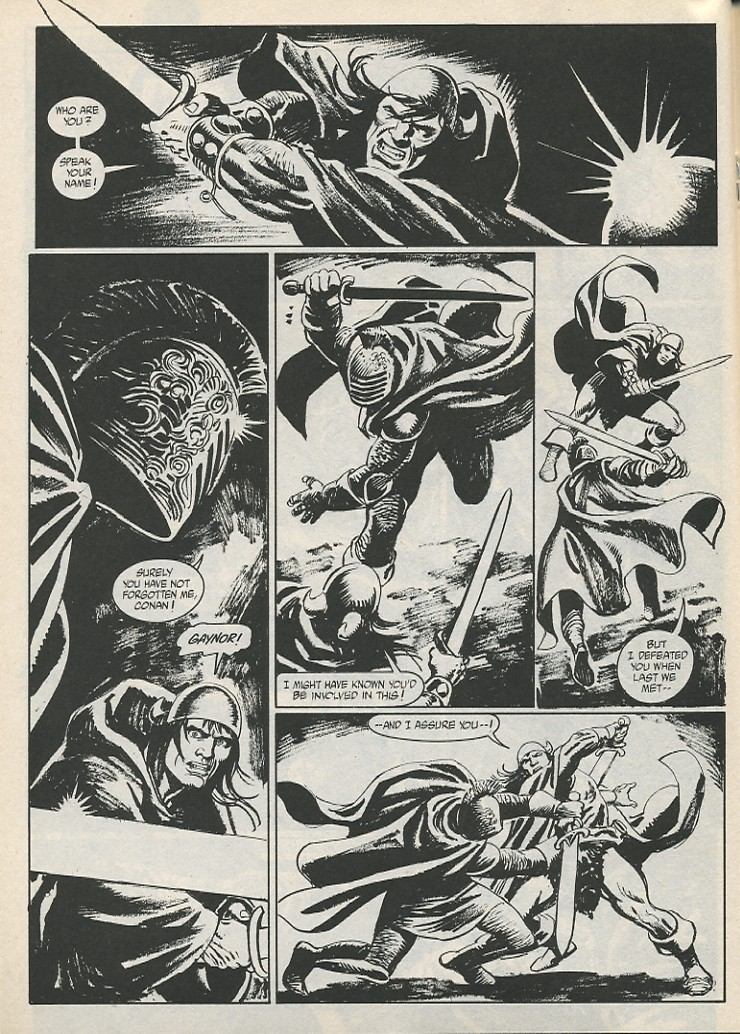 The Savage Sword Of Conan Issue #189 #190 - English 34