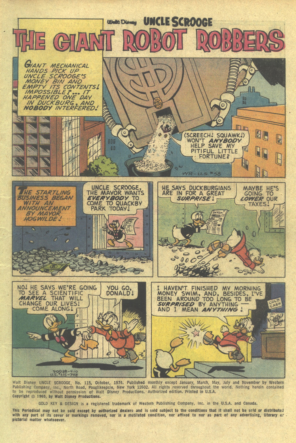 Uncle Scrooge (1953) Issue #115 #115 - English 3