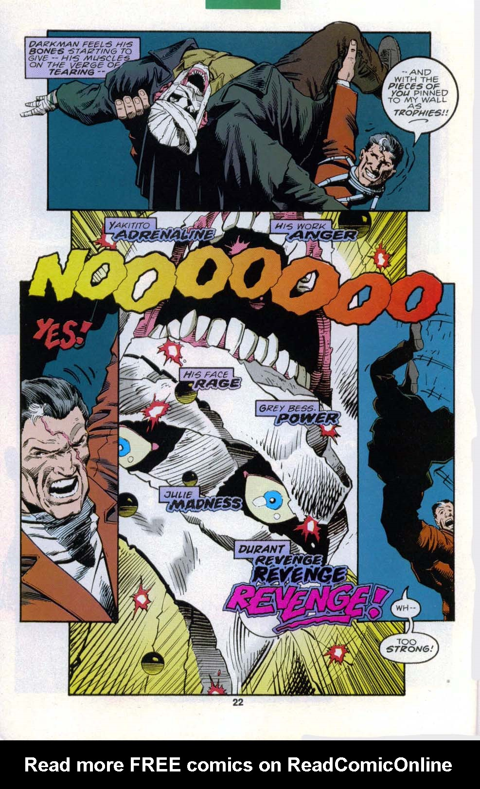 Darkman (1993) #6 #6 - English 17