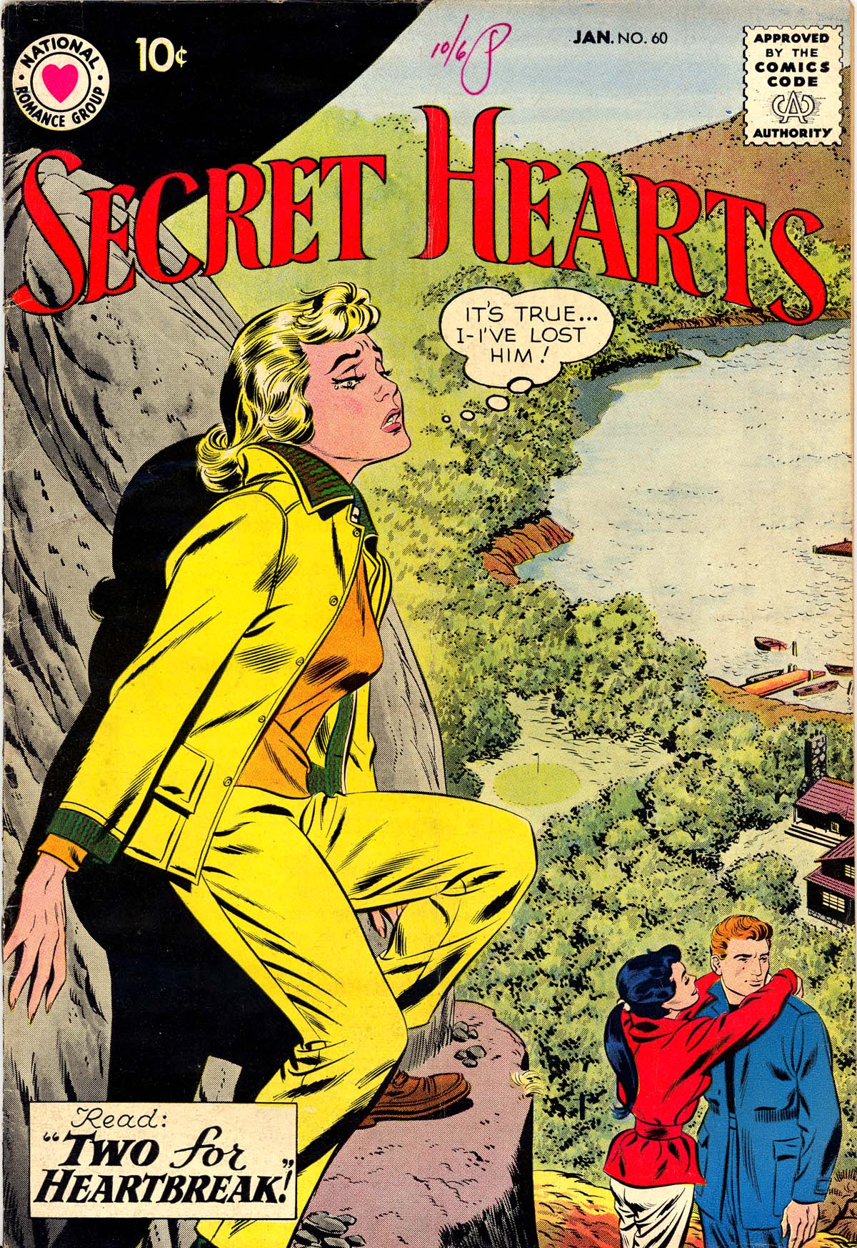 Read online Secret Hearts comic -  Issue #60 - 1