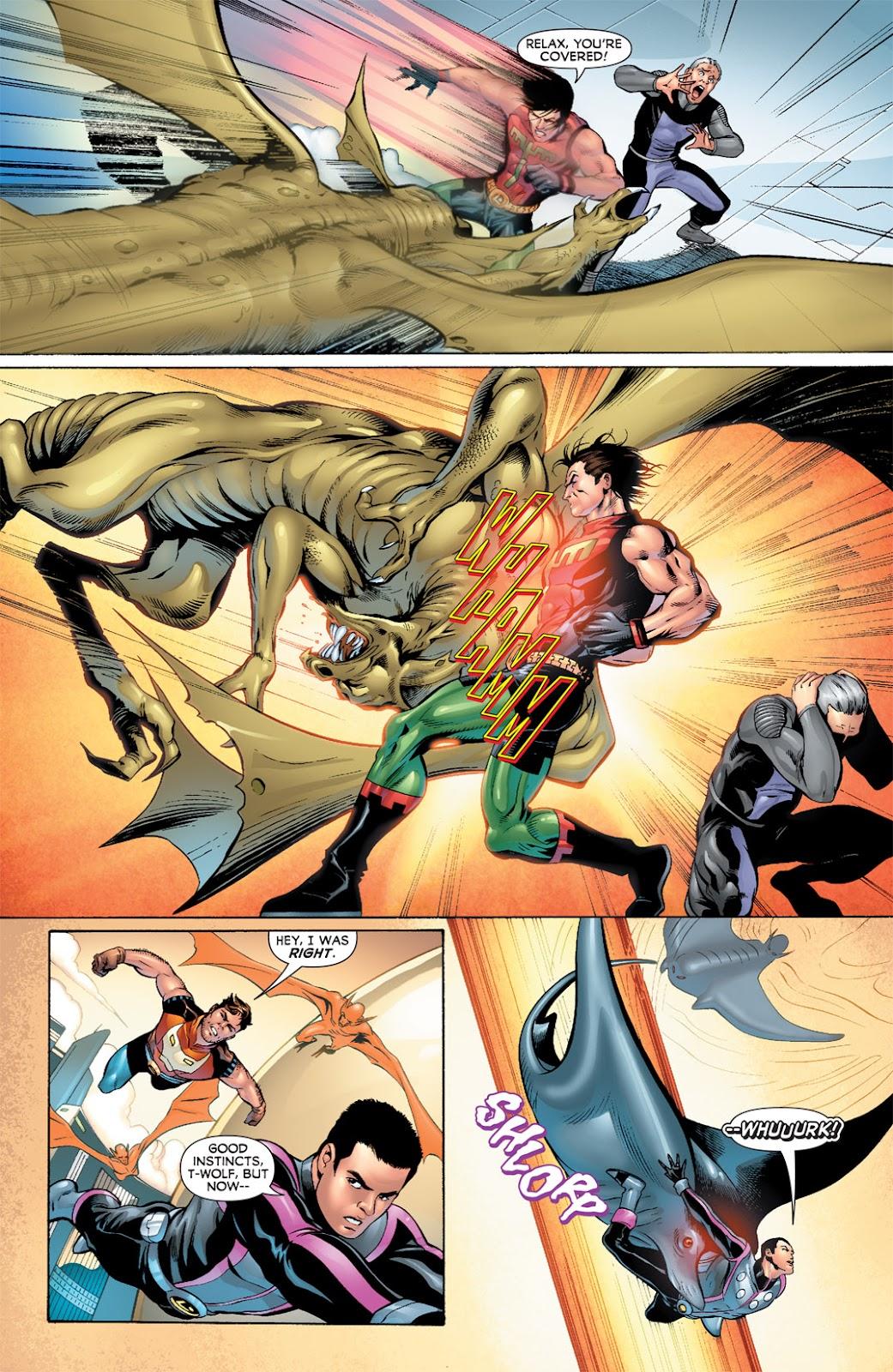 Legion of Super-Heroes (2010) Issue #7 #8 - English 13