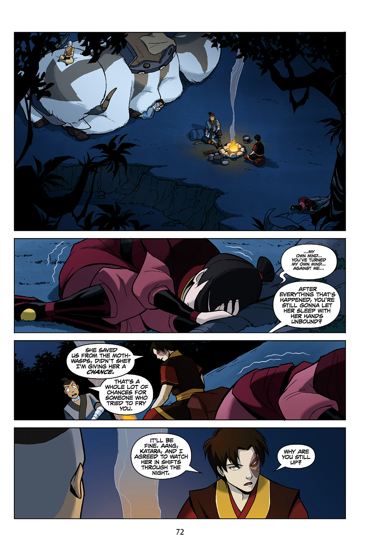 Read online Nickelodeon Avatar: The Last Airbender - The Search comic -  Issue # Part 1 - 73