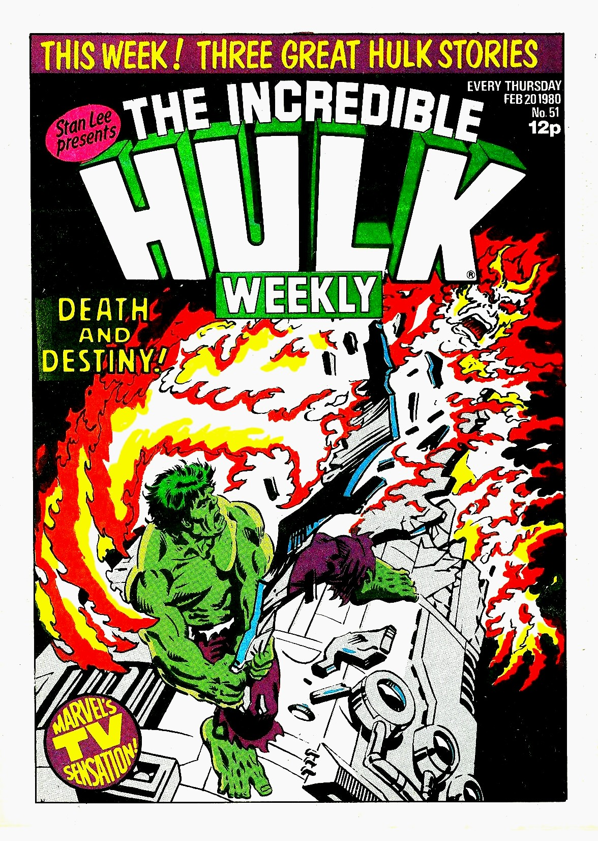 The Incredible Hulk Weekly 51 Page 1