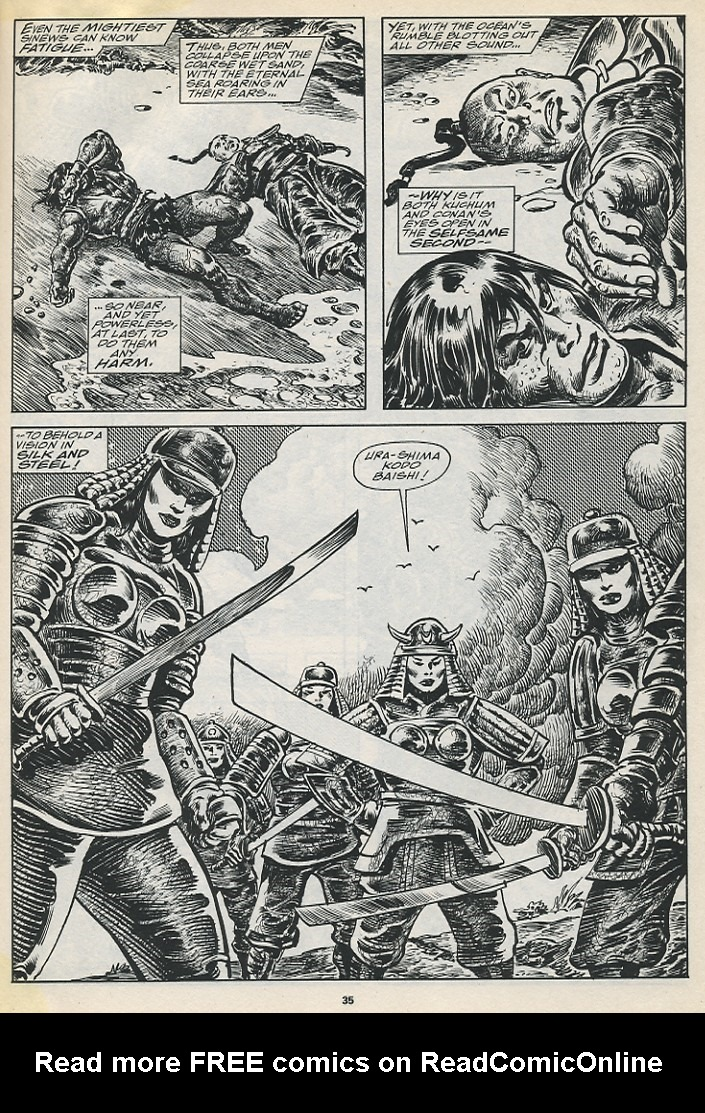 The Savage Sword Of Conan Issue #194 #195 - English 37