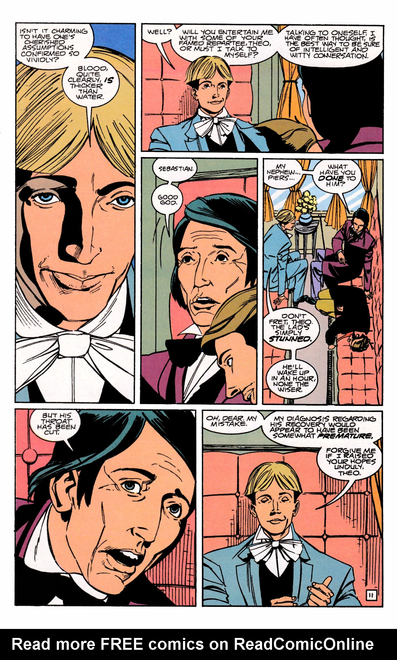 Read online Sebastian O comic -  Issue #3 - 15