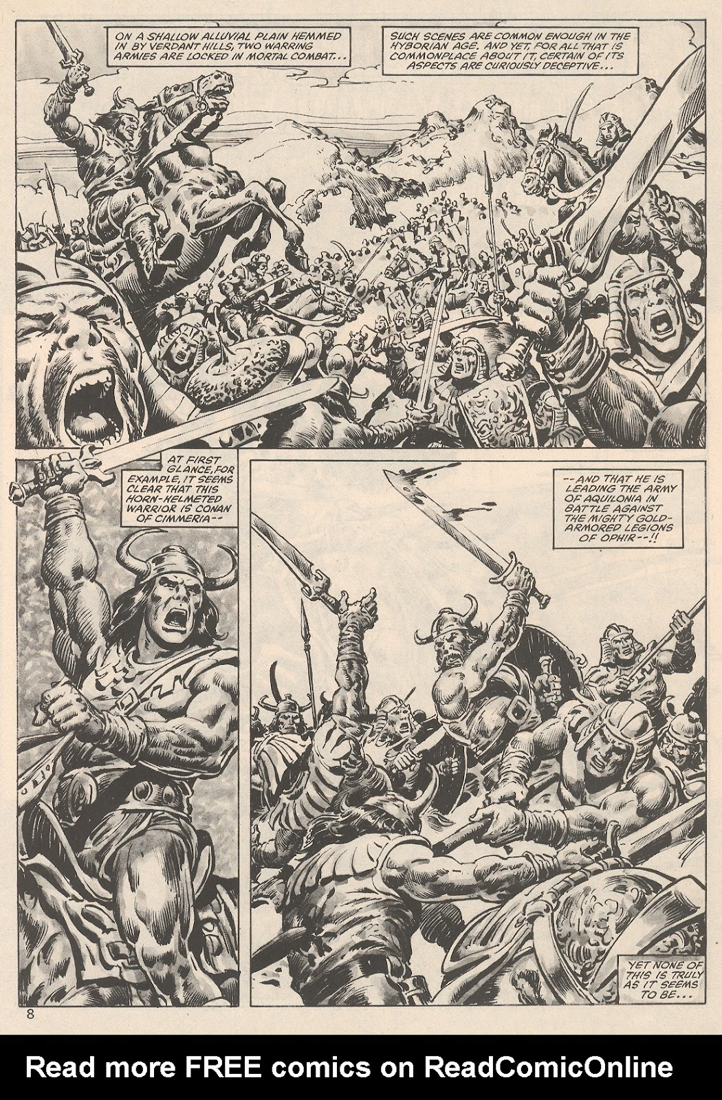 The Savage Sword Of Conan Issue #104 #105 - English 8