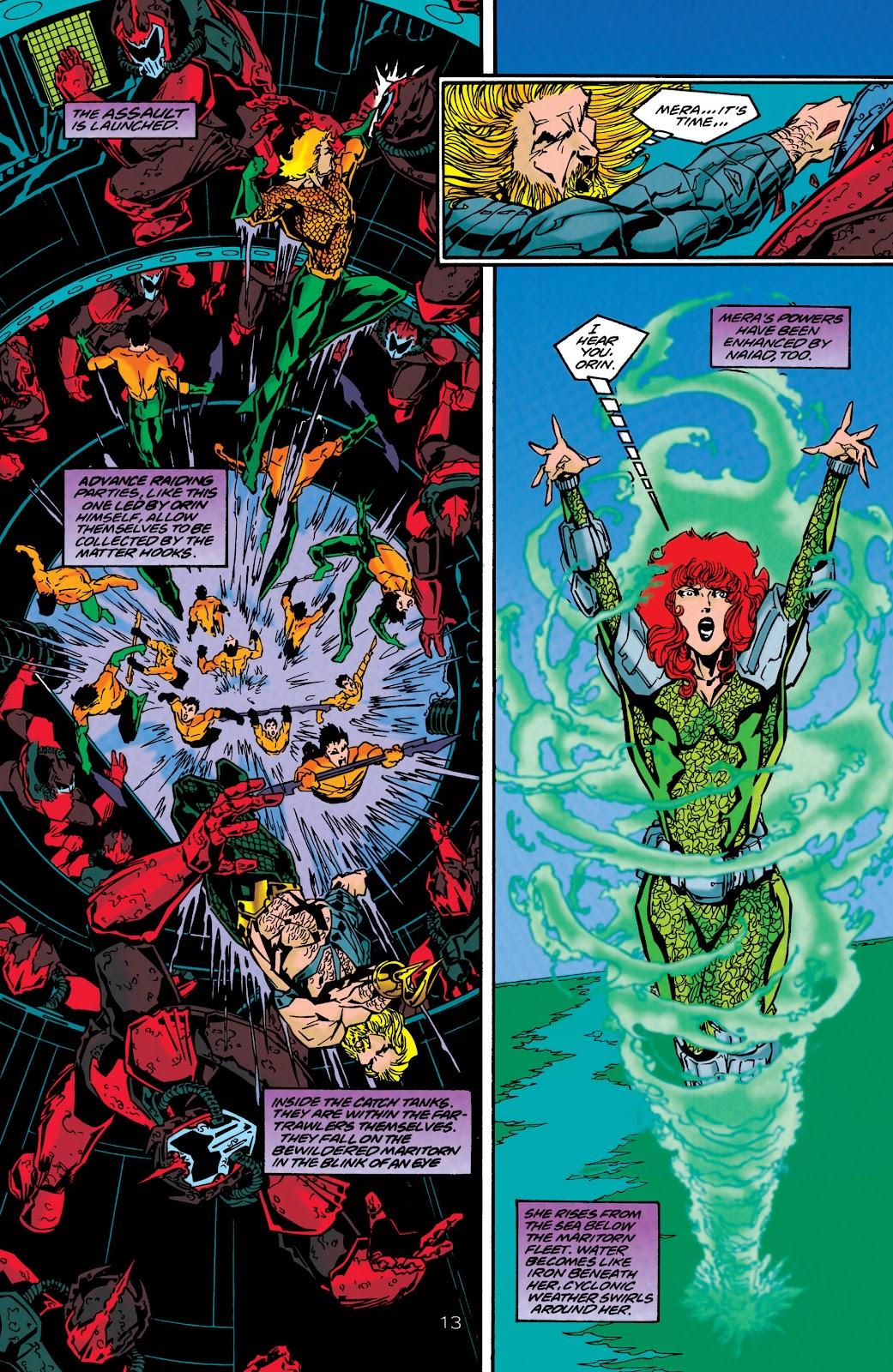 Aquaman (1994) Issue #48 #54 - English 13