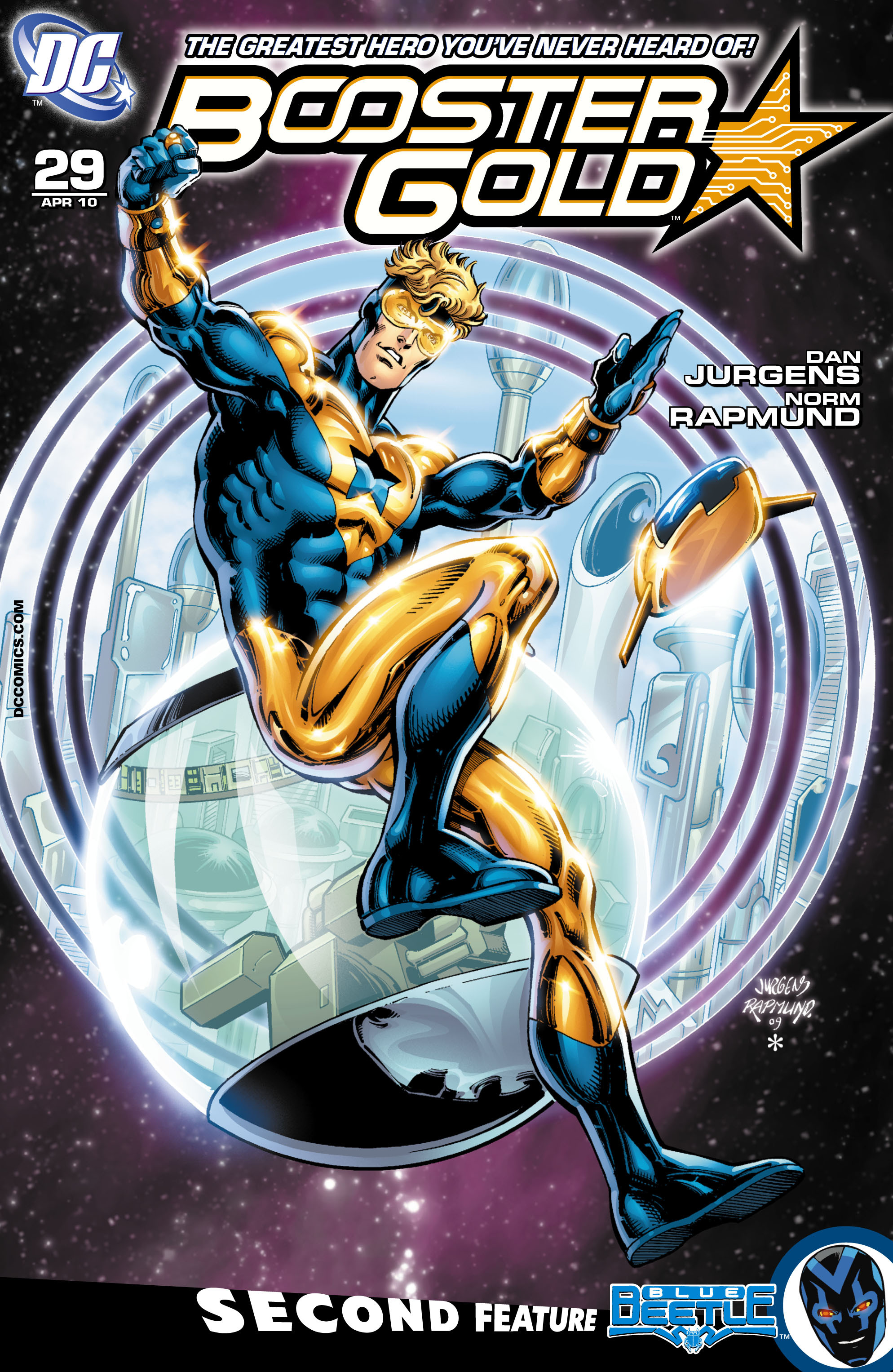 Booster Gold (2007) 29 Page 1