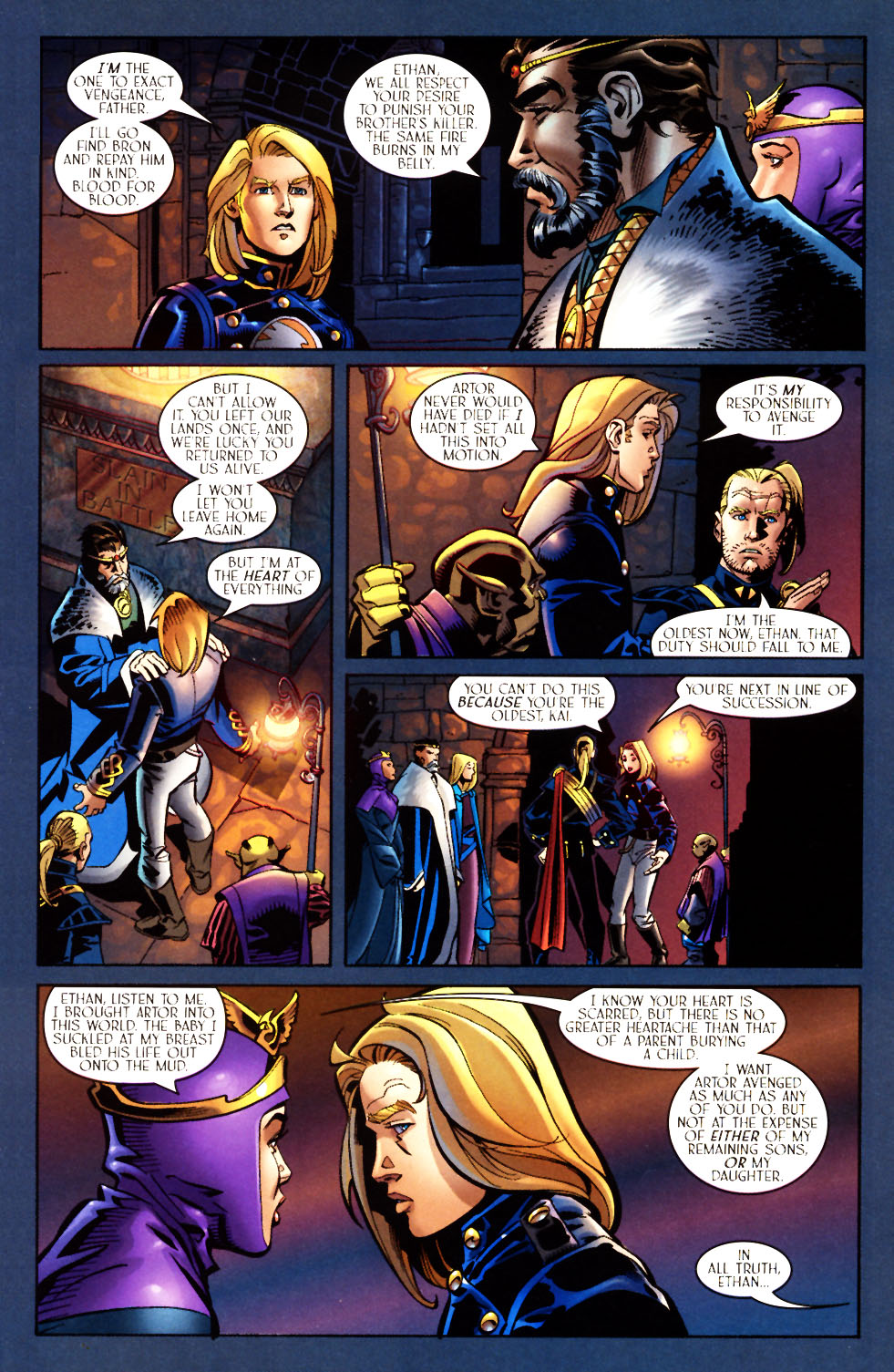 Read online Scion comic -  Issue #7 - 13