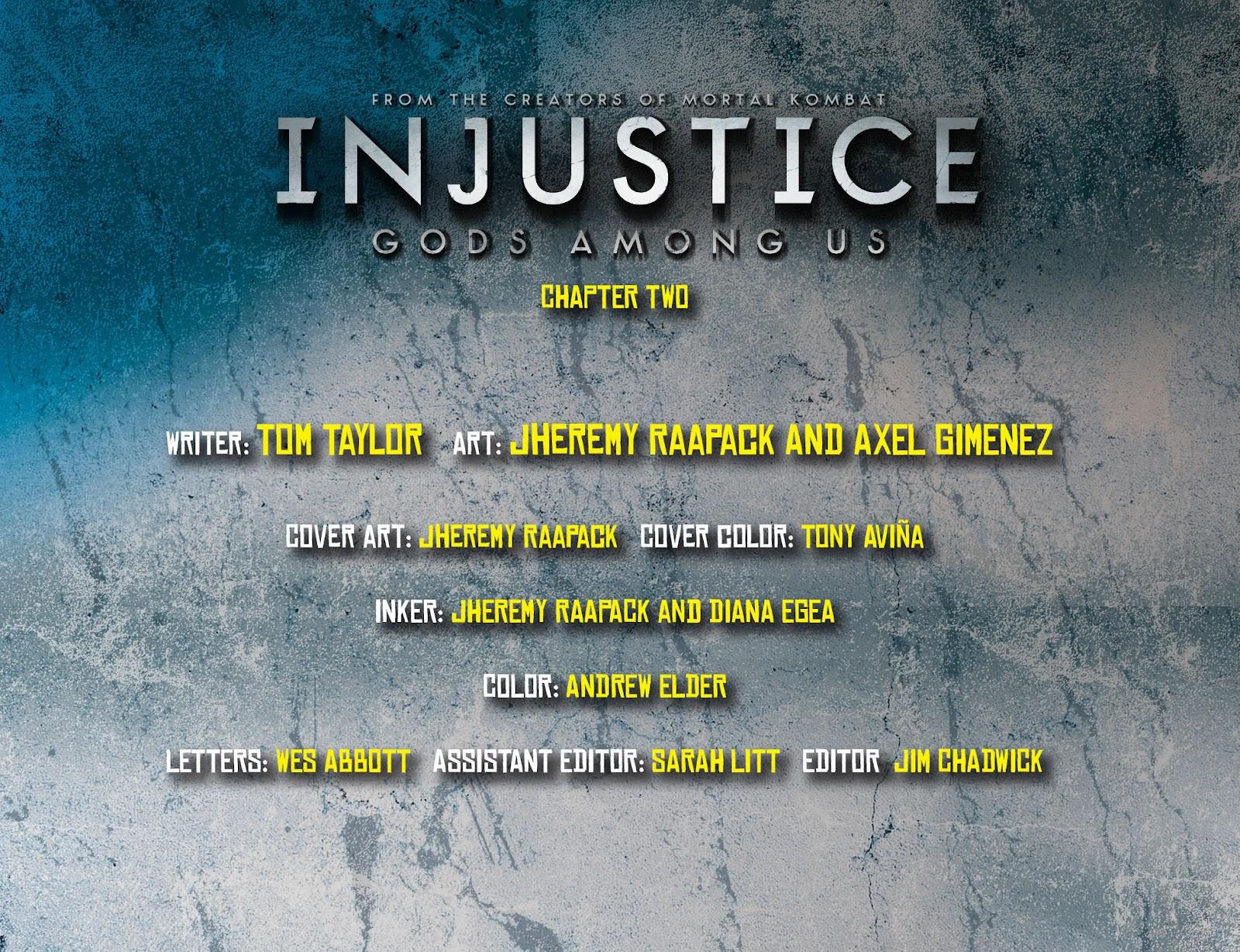Injustice: Gods Among Us [I] Issue #2 #3 - English 2