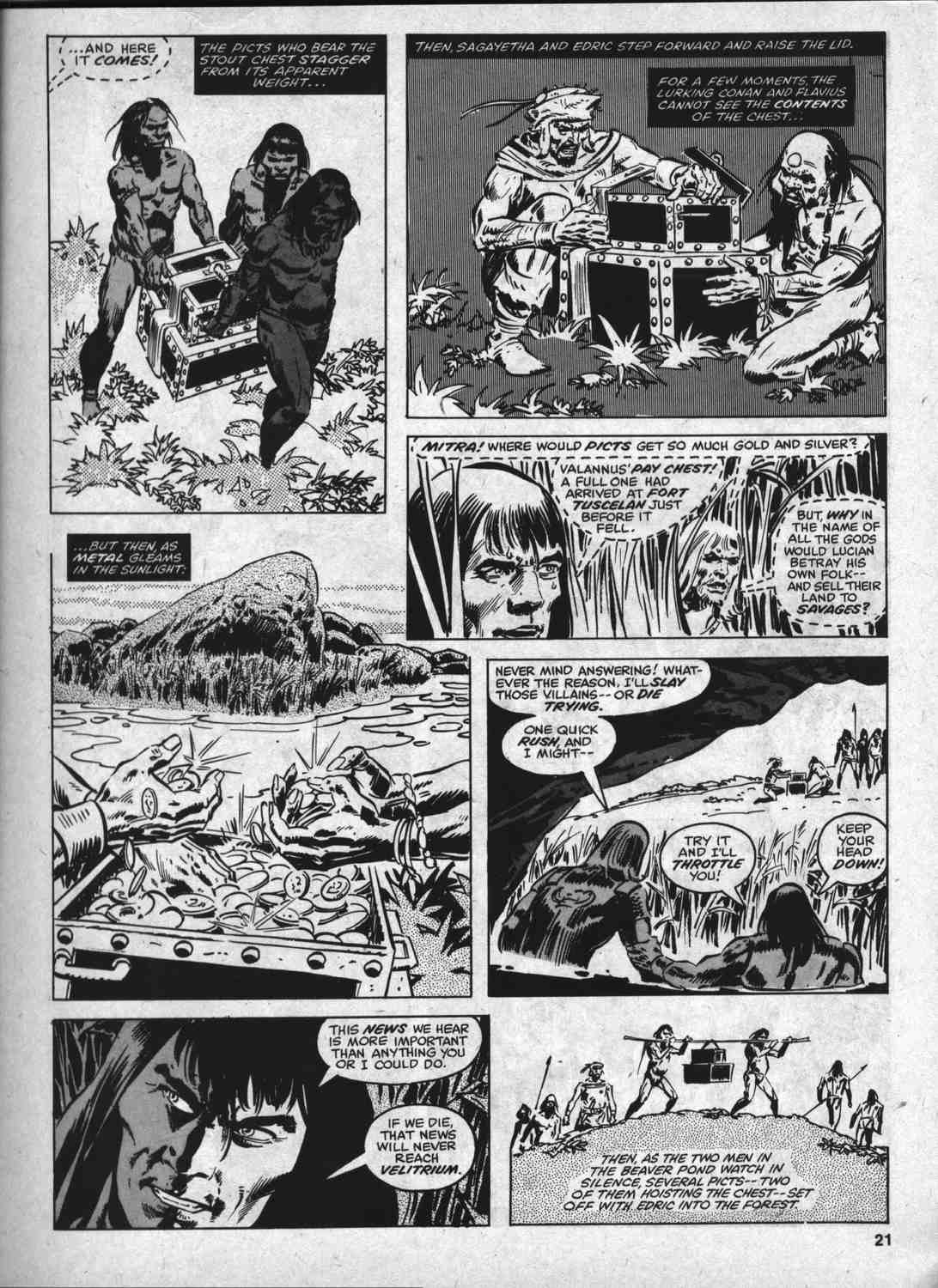 The Savage Sword Of Conan Issue #46 #47 - English 20