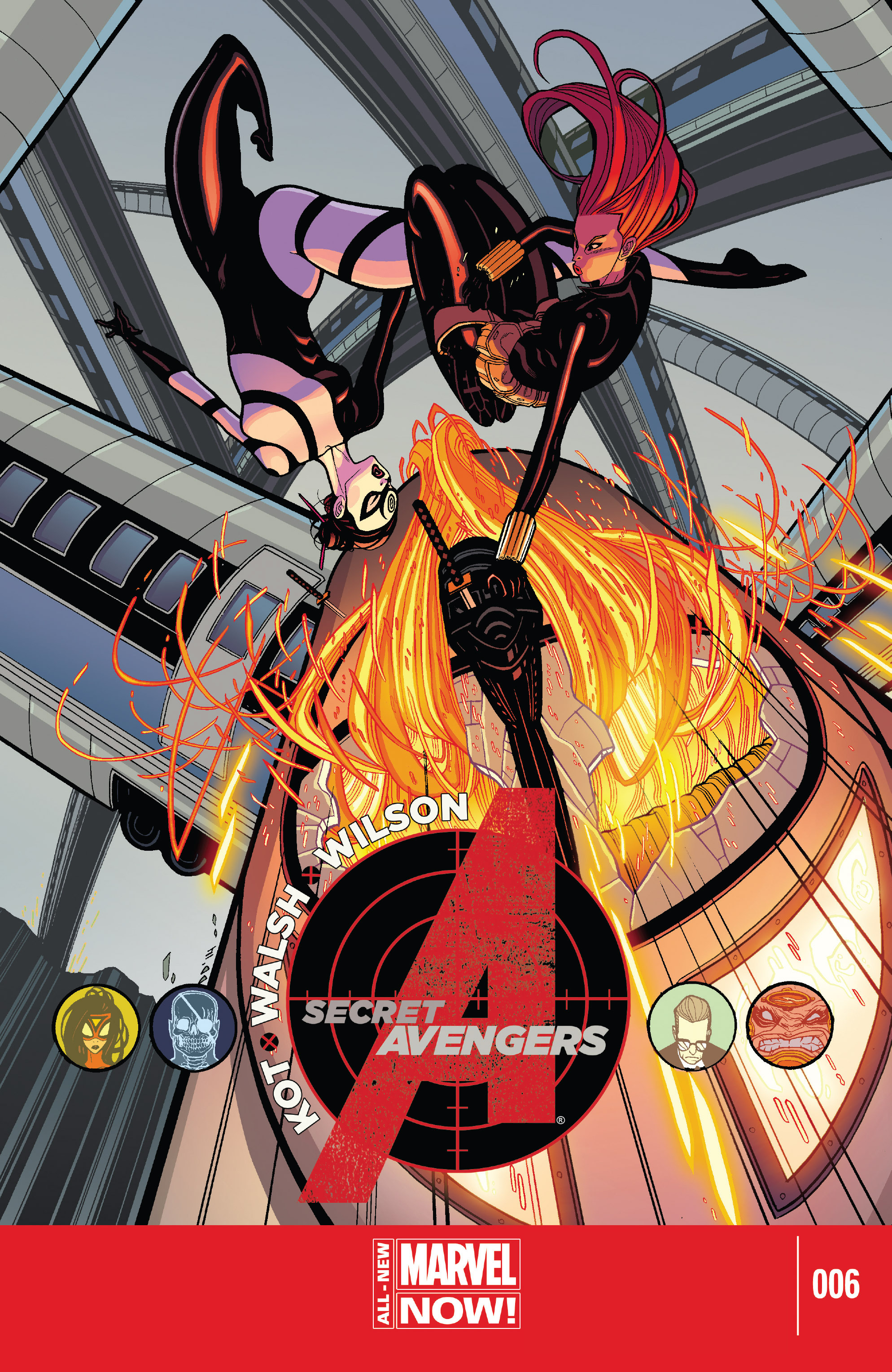 Read online Secret Avengers (2014) comic -  Issue #6 - 1