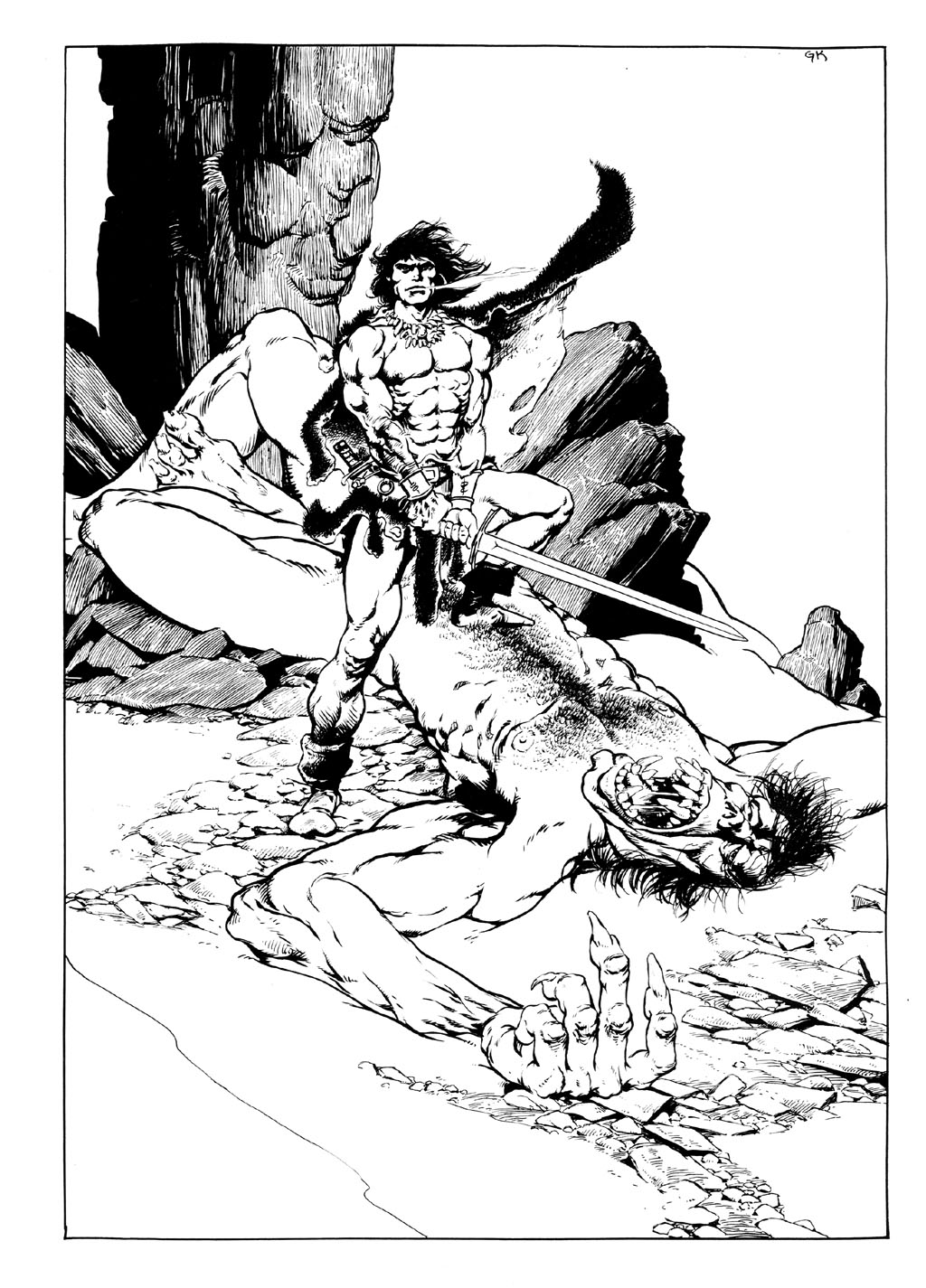 The Savage Sword Of Conan Issue #89 #90 - English 2