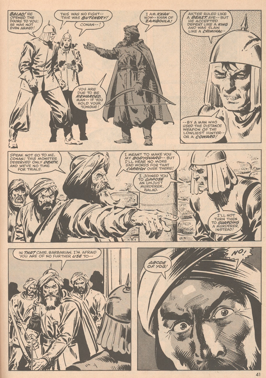 The Savage Sword Of Conan Issue #58 #59 - English 42
