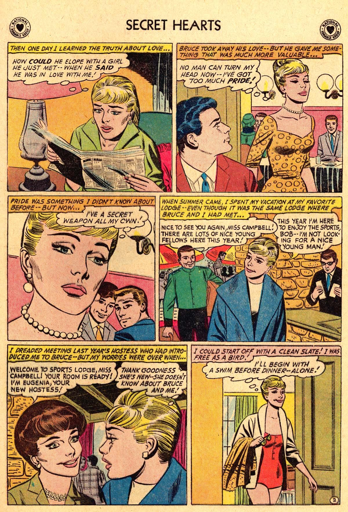 Read online Secret Hearts comic -  Issue #69 - 21