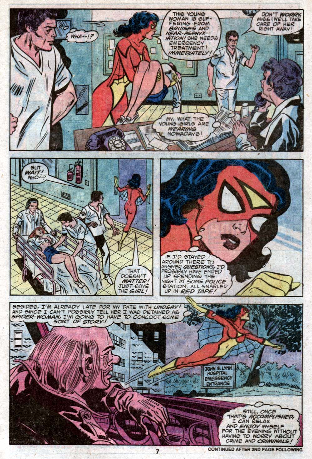 Spider-Woman (1978) Issue #22 #22 - English 7