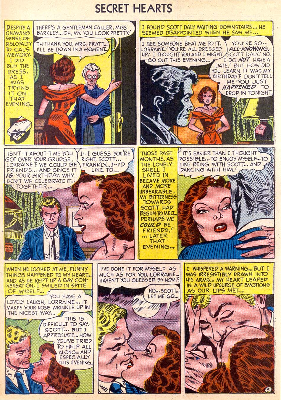 Read online Secret Hearts comic -  Issue #11 - 14