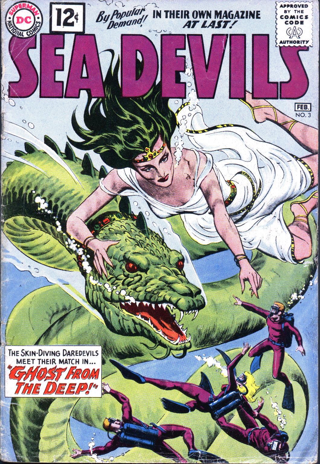 Read online Sea Devils comic -  Issue #3 - 2
