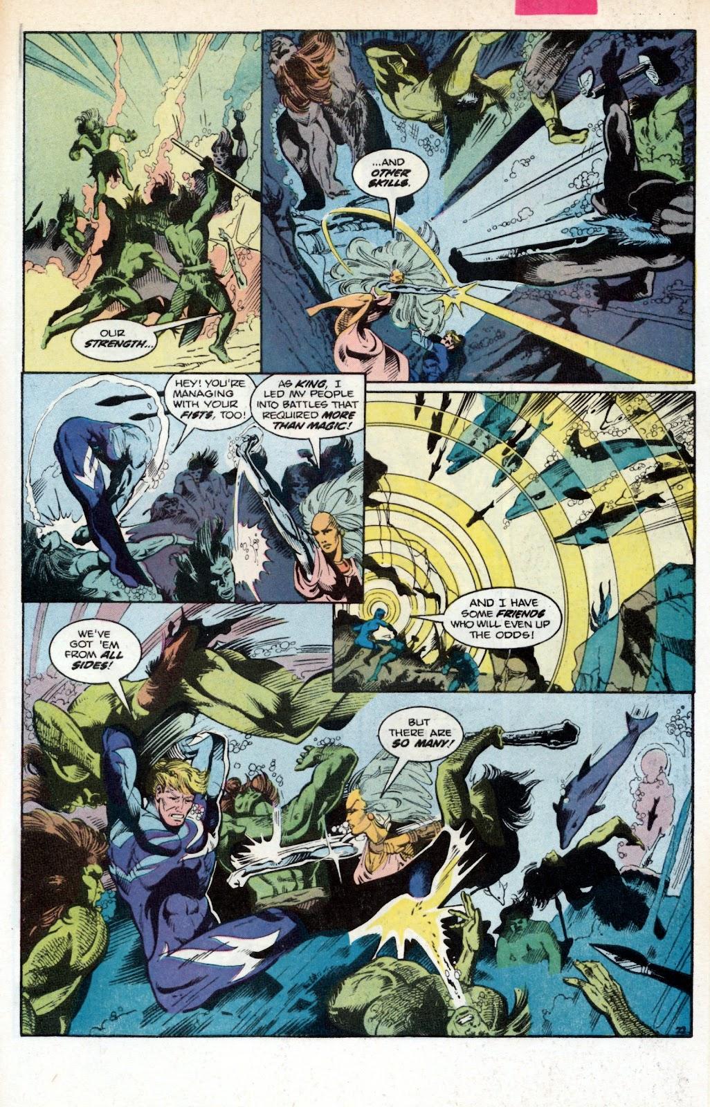 Aquaman (1986) Issue #2 #2 - English 31