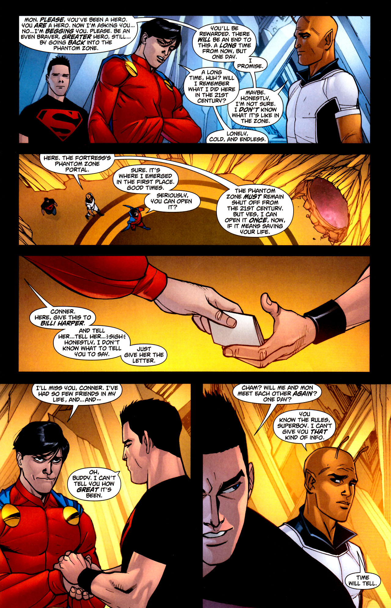 Read online Adventure Comics (2009) comic -  Issue #11 - 24