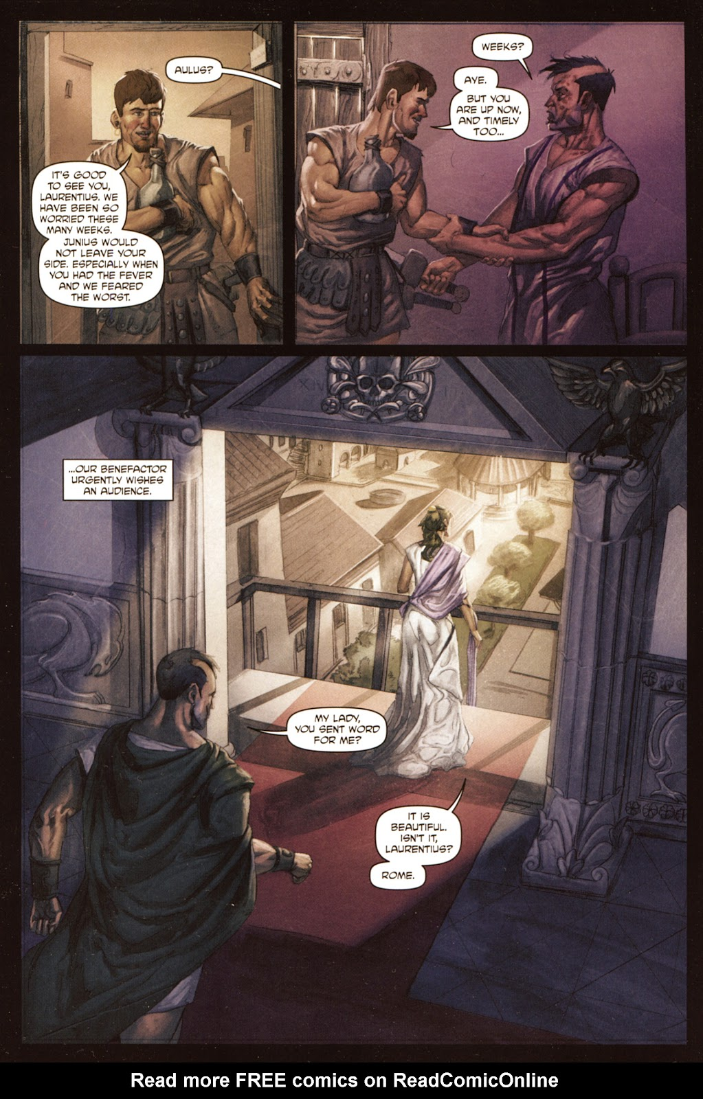 Caligula: Heart of Rome Issue #5 #5 - English 13