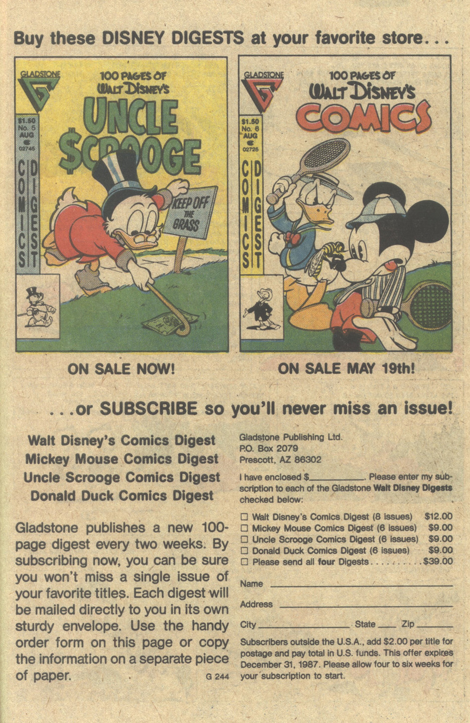 Uncle Scrooge (1953) Issue #220 #220 - English 27