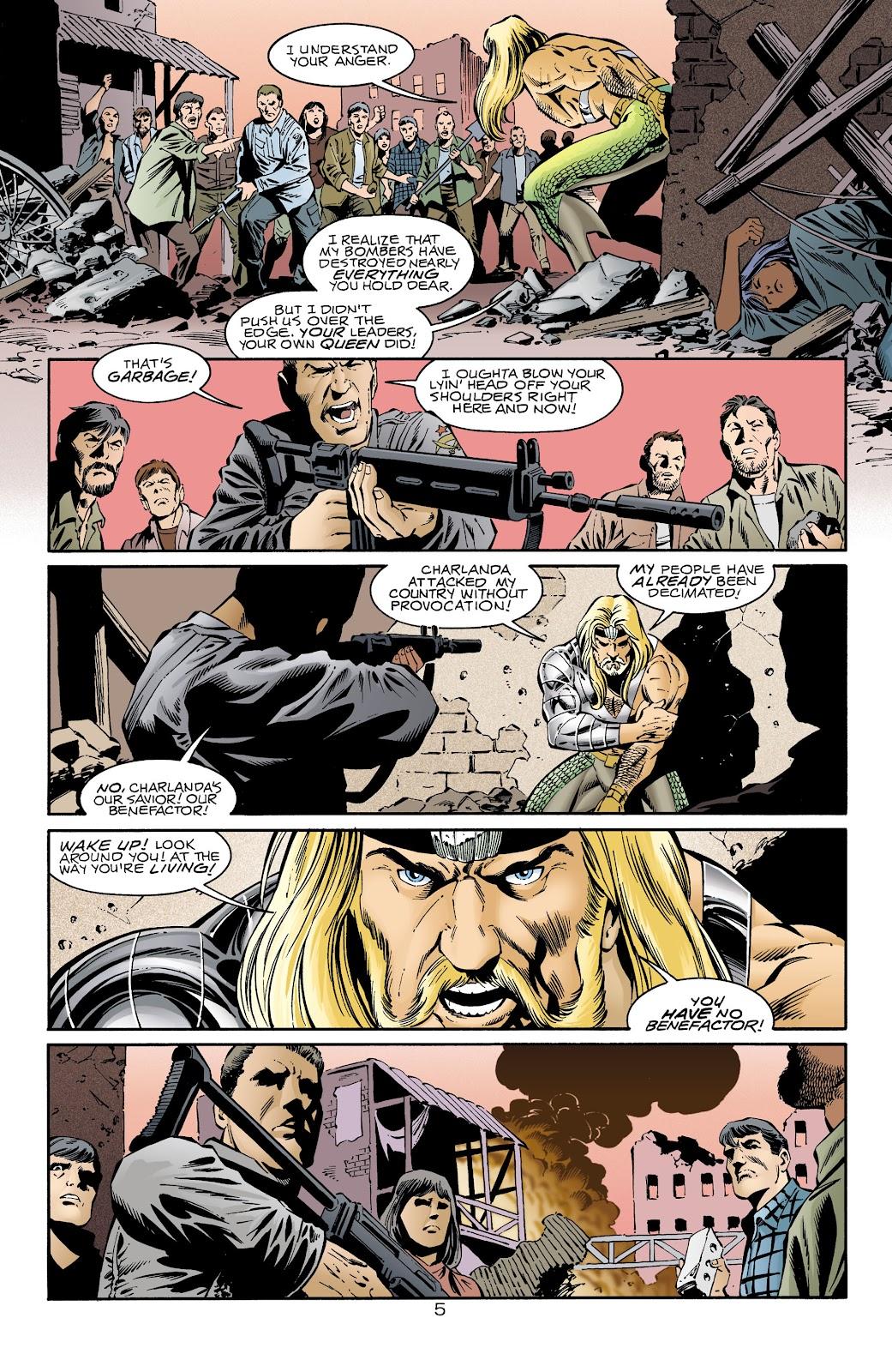 Aquaman (1994) Issue #68 #74 - English 6