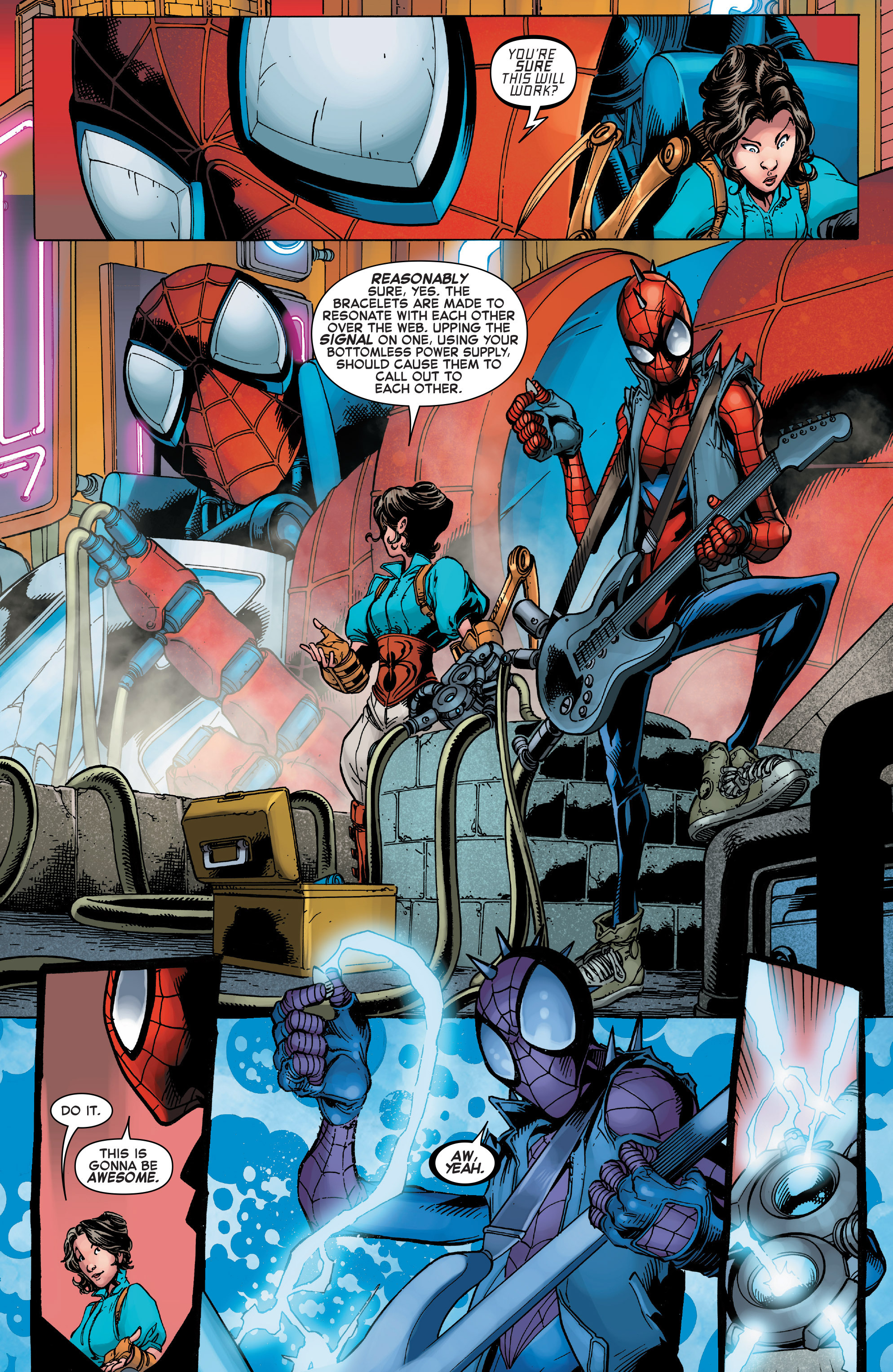 Read online Web Warriors comic -  Issue #10 - 19