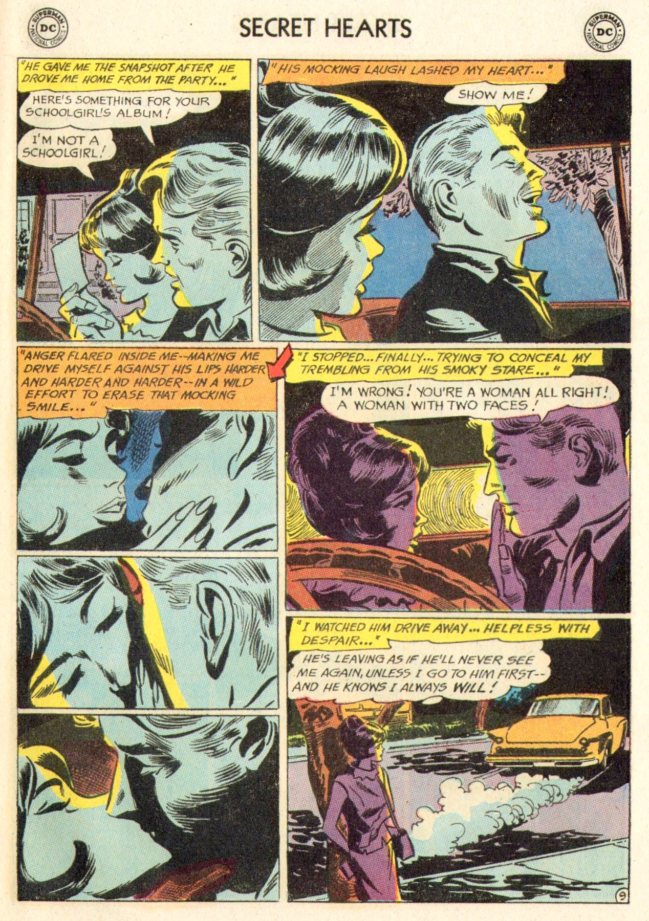 Read online Secret Hearts comic -  Issue #104 - 29