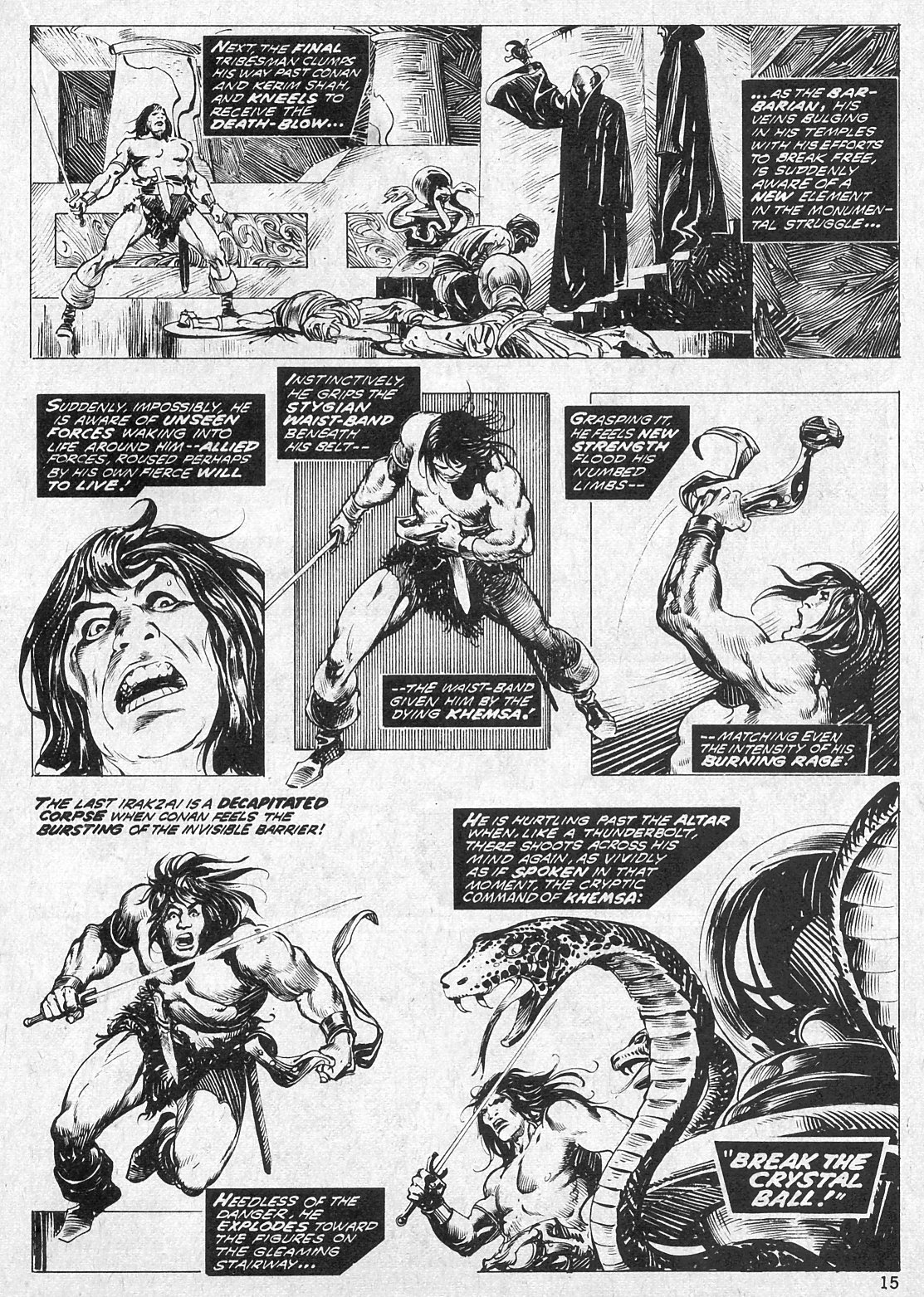The Savage Sword Of Conan Issue #19 #20 - English 15