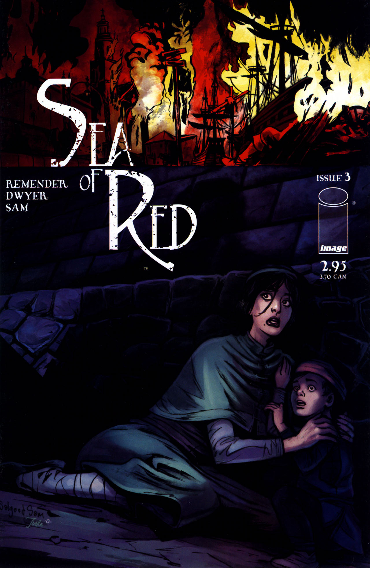 Read online Sea of Red comic -  Issue #3 - 36