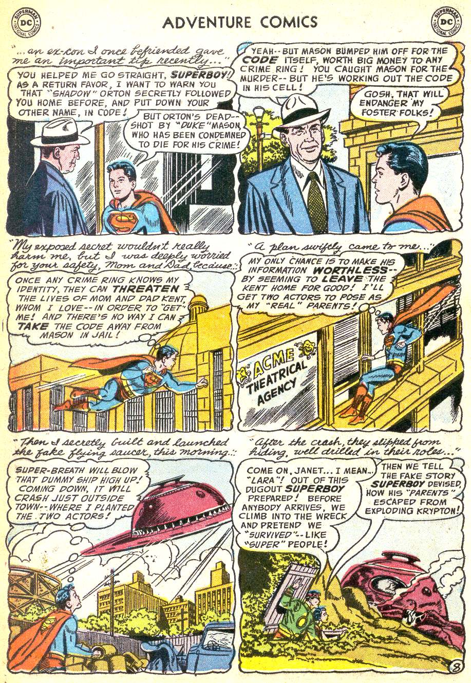 Read online Adventure Comics (1938) comic -  Issue #218 - 10