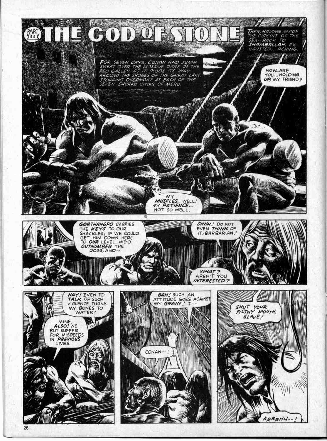 The Savage Sword Of Conan Issue #59 #60 - English 26
