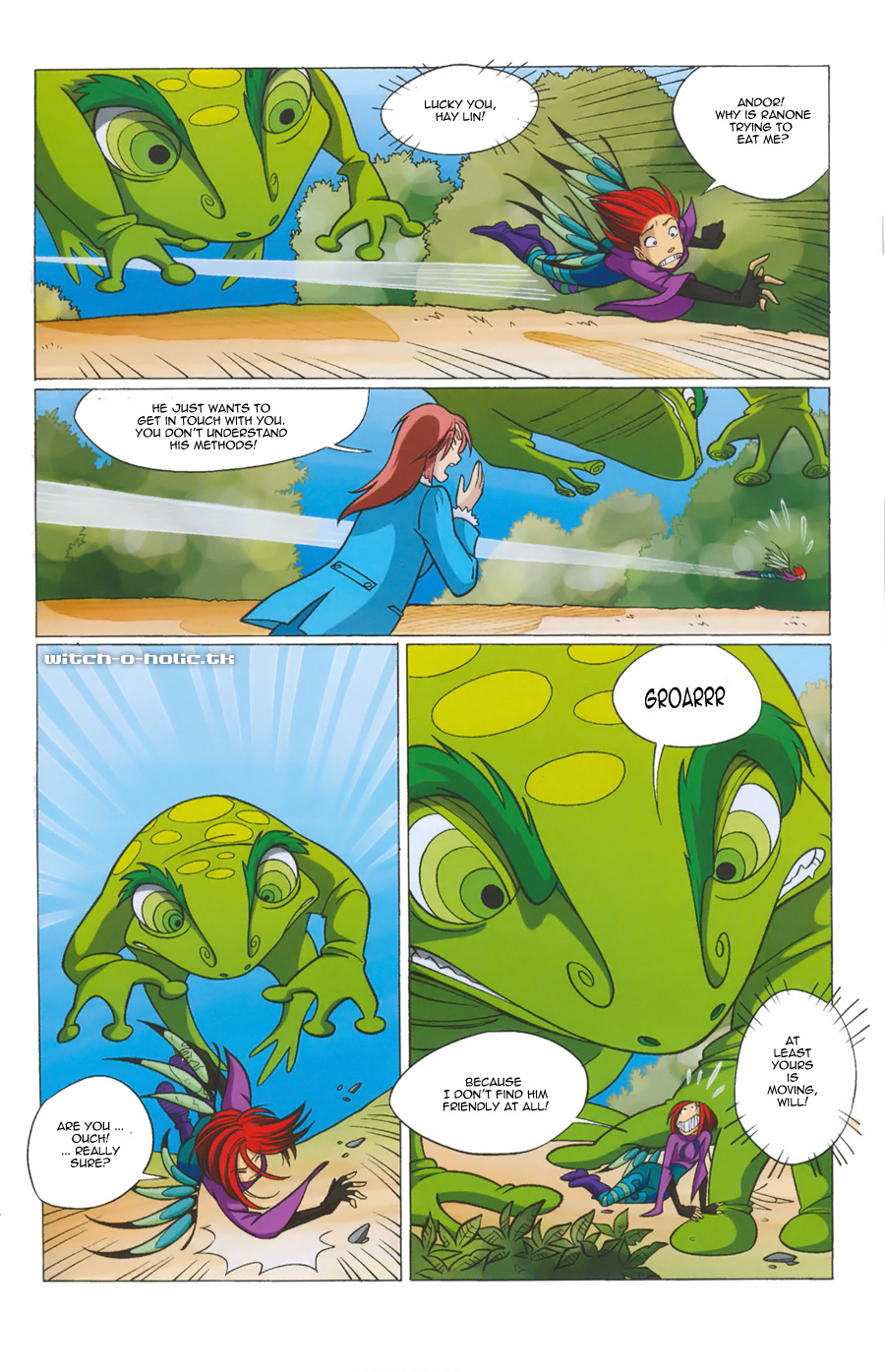 Read online W.i.t.c.h. comic -  Issue #135 - 13