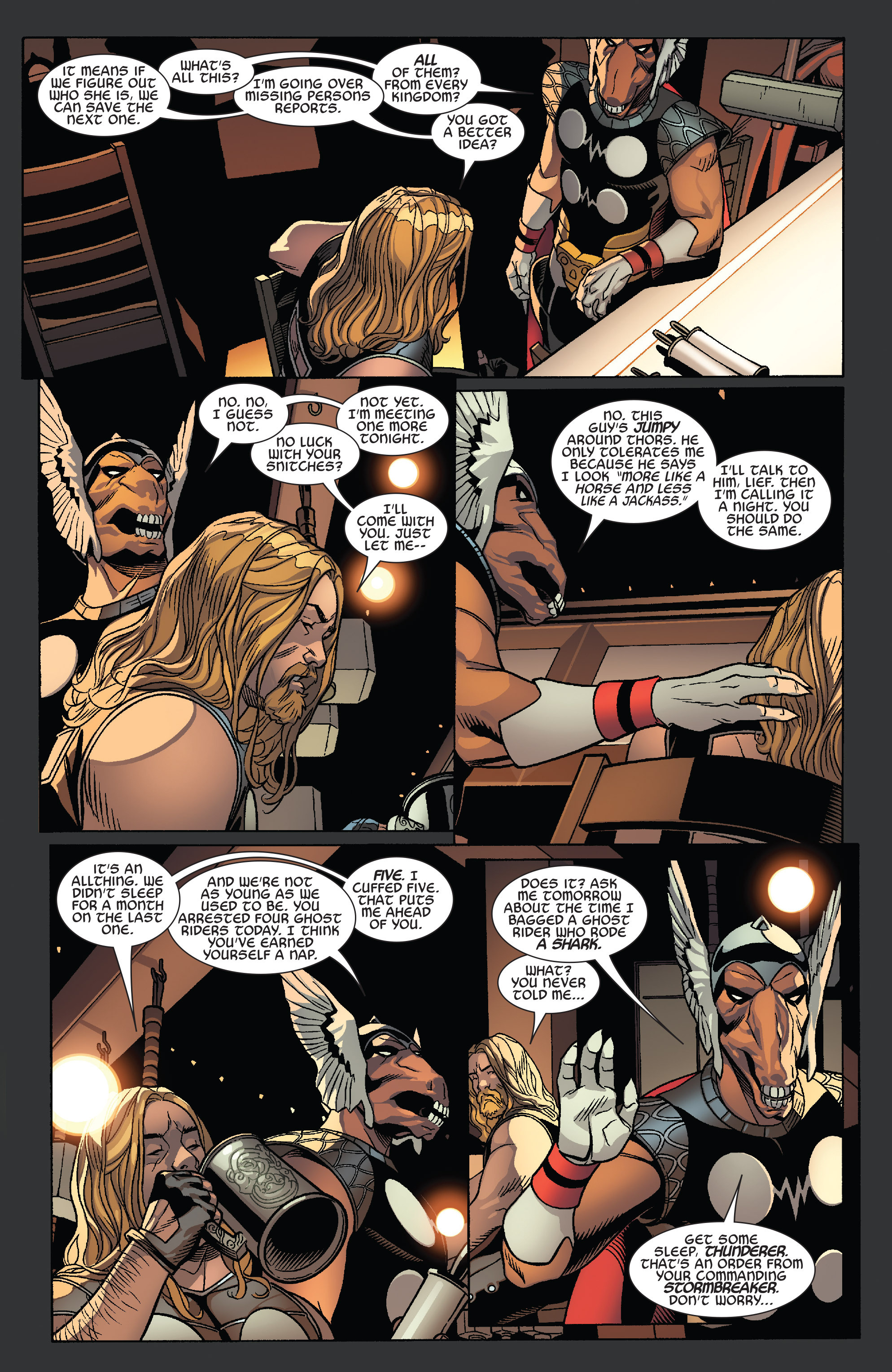 Thors #1 #4 - English 16